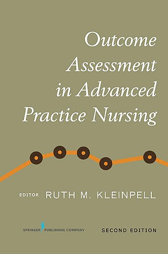 Portada del libro 9780826125828 Outcome Assessment in Advanced Practice Nursing