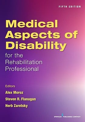 Portada del libro 9780826132277 Medical Aspects of Disability for the Rehabilitation Professional
