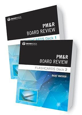 Portada del libro 9780826138149 PM&R Board Review Flashcards