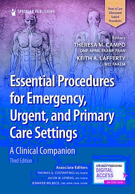 Portada del libro 9780826141040 Essential Procedures for Emergency, Urgent, and Primary Care Settings. A Clinical Companion