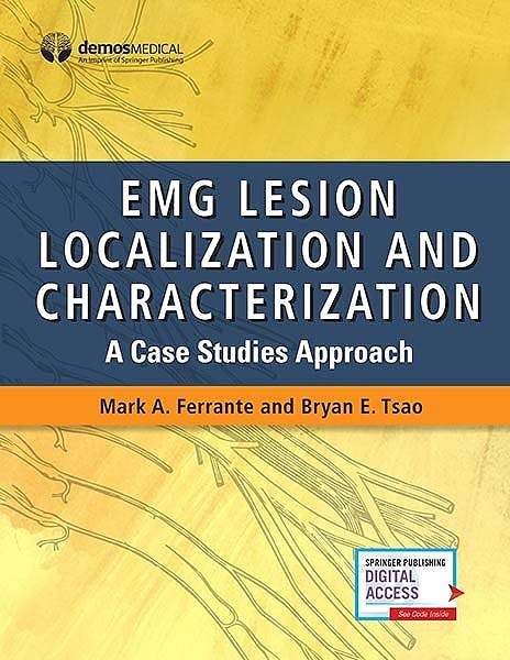 Portada del libro 9780826148643 EMG Lesion Localization and Characterization. A Case Studies Approach