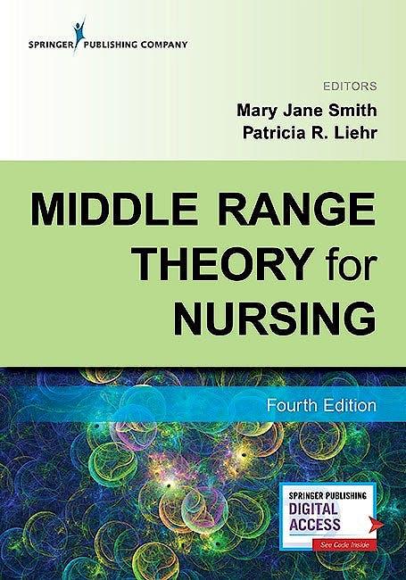 Portada del libro 9780826159915 Middle Range Theory for Nursing