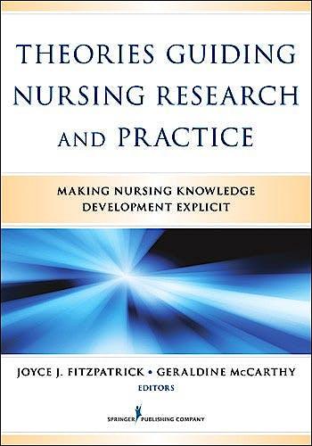 Portada del libro 9780826164049 Theories Guiding Nursing Research and Practice