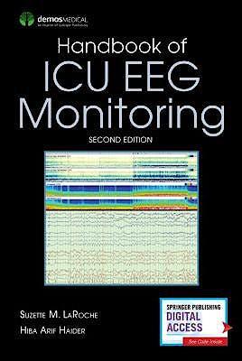 Portada del libro 9780826168610 Handbook of ICU EEG Monitoring