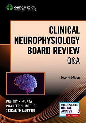 Portada del libro 9780826181879 Clinical Neurophysiology Board Review Q&A