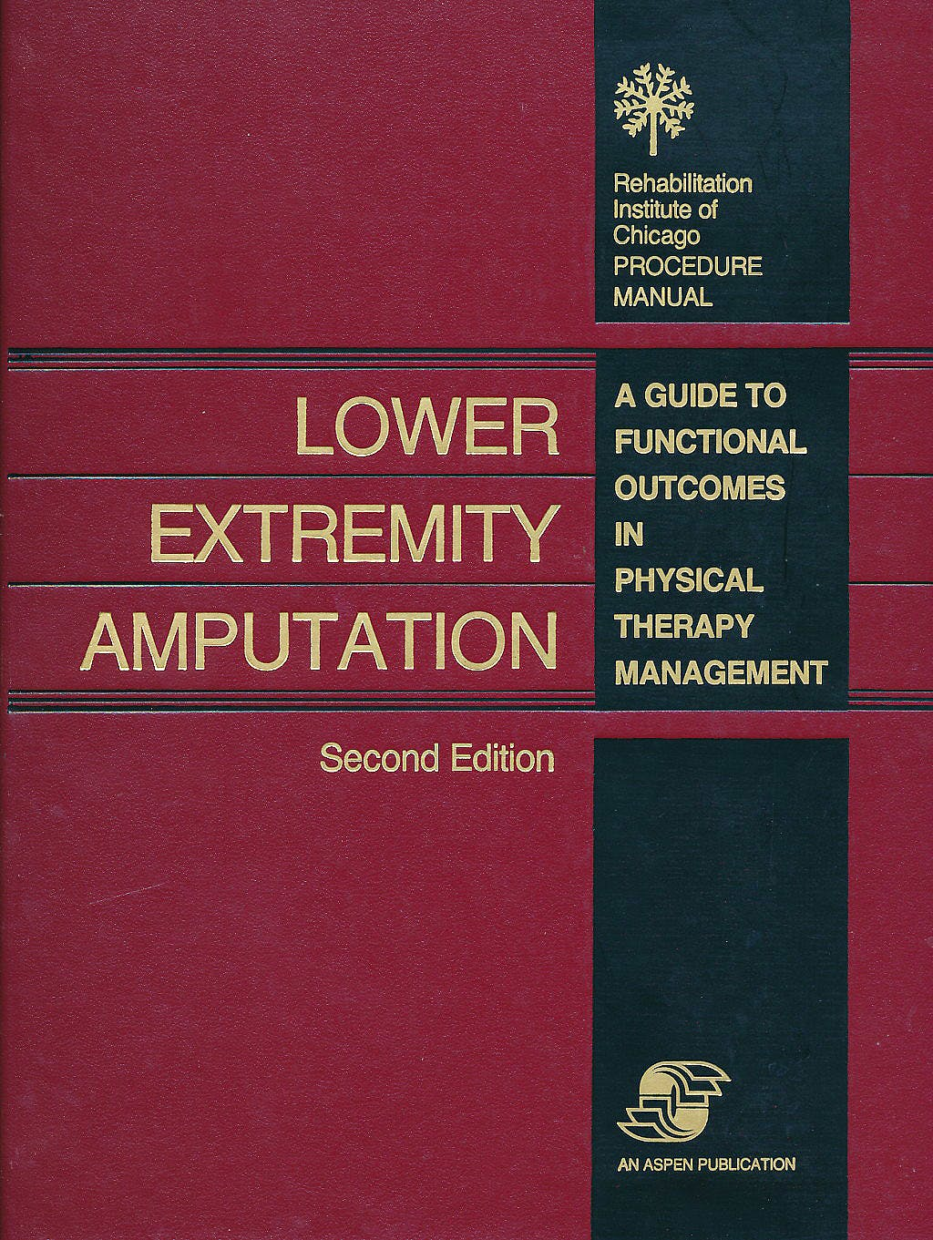 Portada del libro 9780834202917 Lower Extremity Amputation. A Guide to Functional Outcomes in Physical Therapy Management