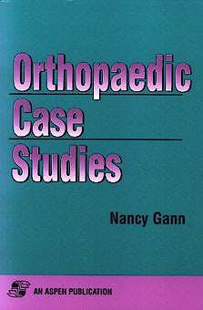 Portada del libro 9780834210776 Orthopaedic Case Studies