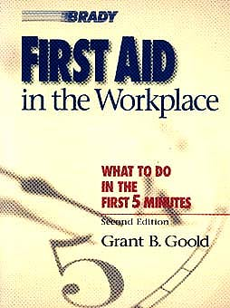 Portada del libro 9780835951098 First Aid in the Workplace