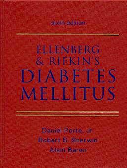 Portada del libro 9780838521786 Ellenberg & Rifkin's Diabetes Mellitus