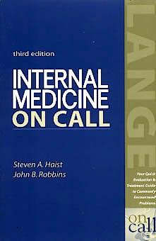 Portada del libro 9780838542781 Internal Medicine on Call
