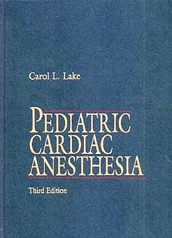 Portada del libro 9780838576809 Pediatric Cardiac Anesthesia