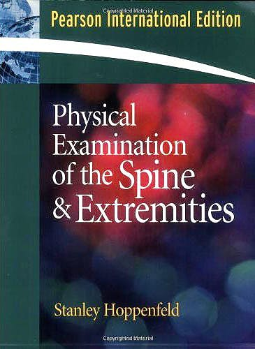 Portada del libro 9780838578452 Physical Examination of the Spine and Extremities