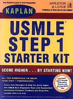 Portada del libro 9780838586655 Usmle Step 1 Starter Kit