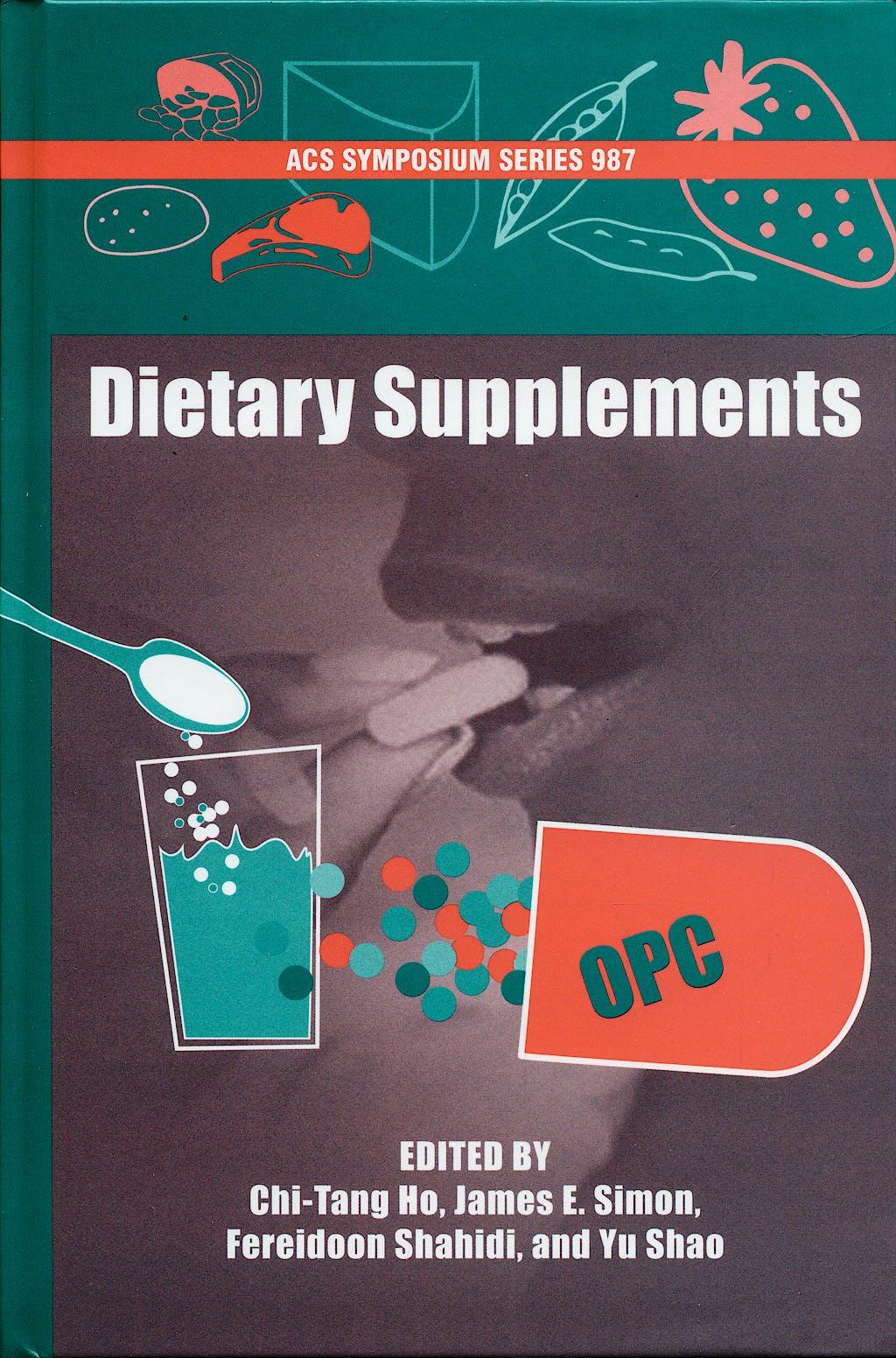 Portada del libro 9780841239920 Dietary Supplements