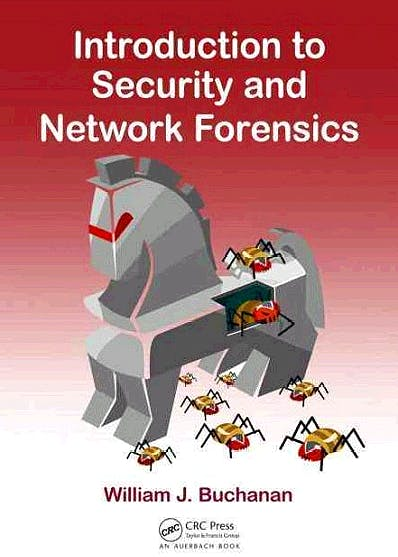 Portada del libro 9780849335686 Introduction to Security and Network Forensics