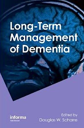 Portada del libro 9780849338533 Long-Term Management of Dementia