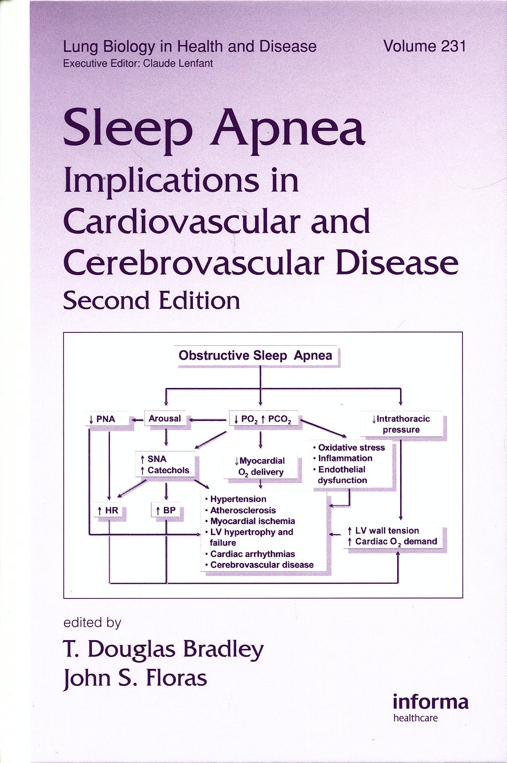 Portada del libro 9780849341502 Sleep Apnea. Implications in Cardiovascular and Cerebrovascular Disease