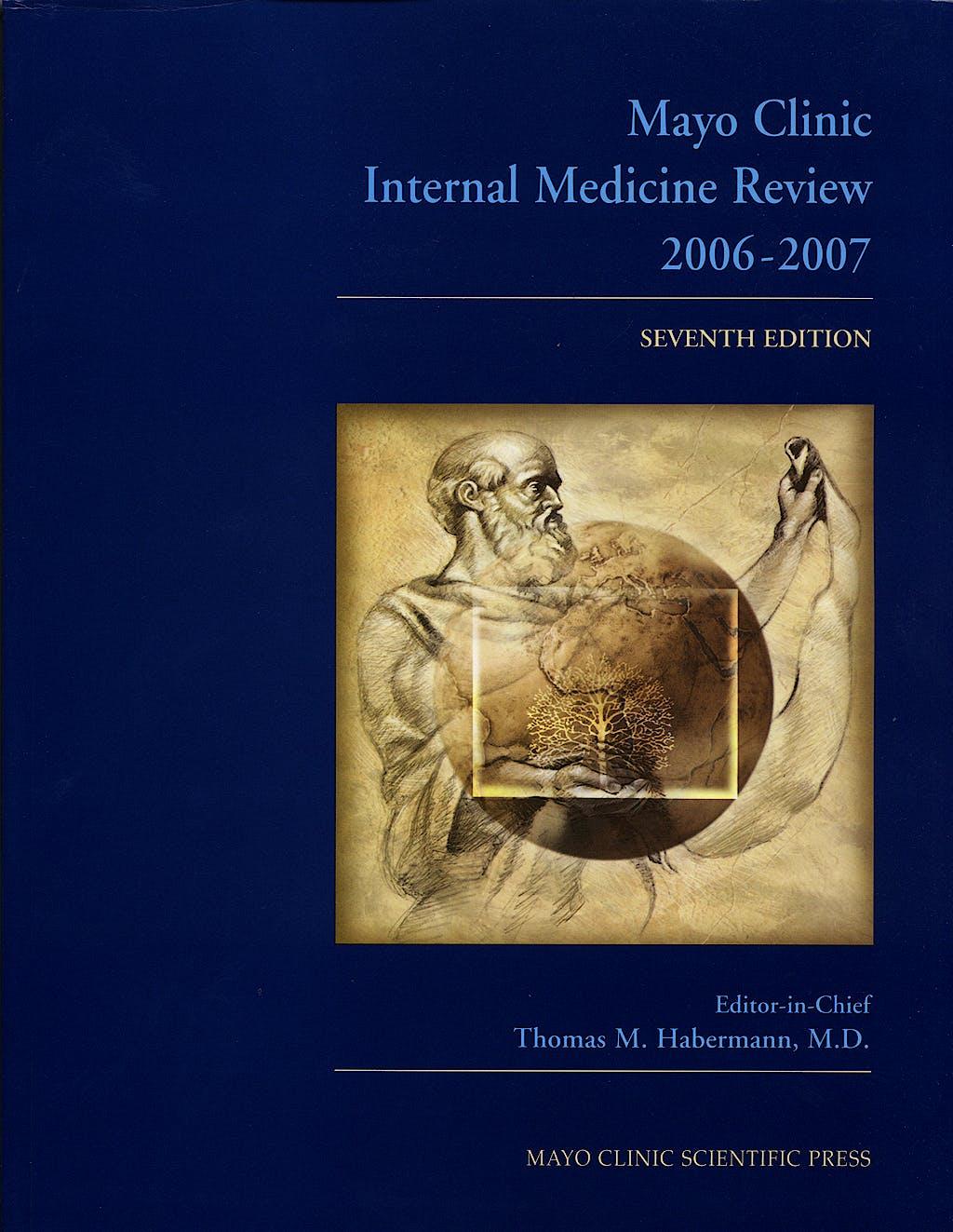 Portada del libro 9780849390593 Mayo Clinic Internal Medicine Review