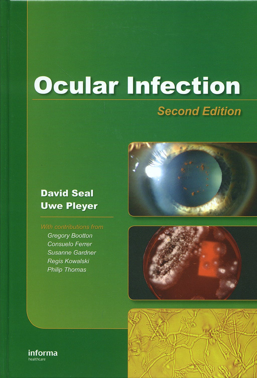 Portada del libro 9780849390937 Ocular Infection