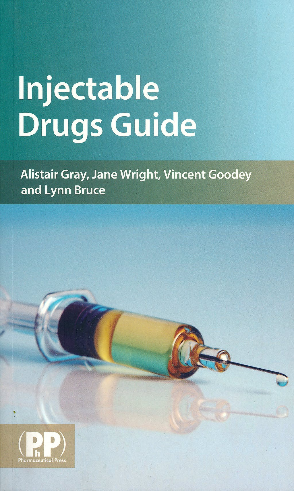 Portada del libro 9780853697879 Injectable Drugs Guide