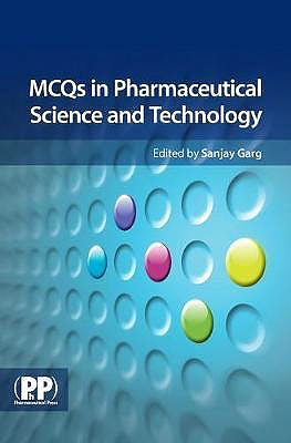 Portada del libro 9780853699132 MCQs in Pharmaceutical Science and Technology