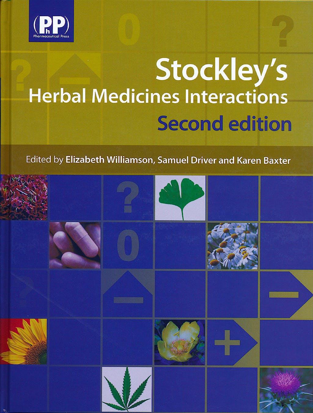 Portada del libro 9780857110268 Stockley's Herbal Medicines Interactions