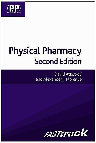 Portada del libro 9780857110640 Fasttrack: Physical Pharmacy