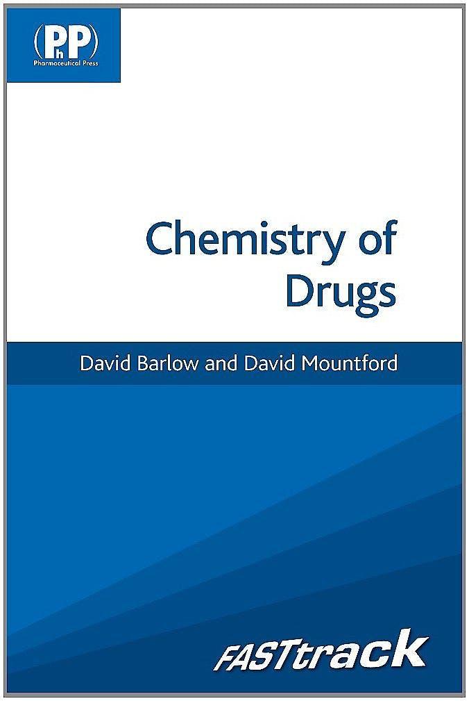 Portada del libro 9780857110831 Fasttrack: Chemistry of Drugs
