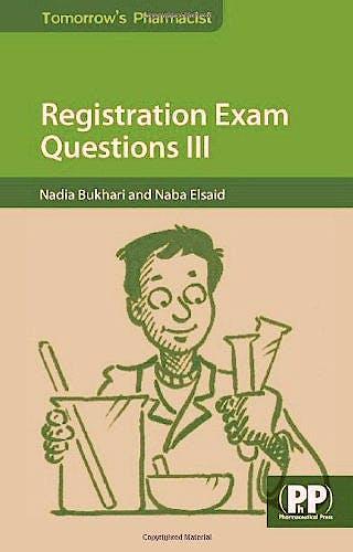Portada del libro 9780857111234 Registration Exam Questions III