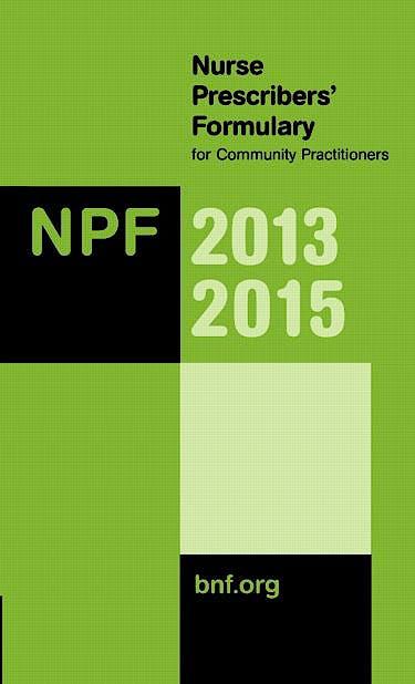Portada del libro 9780857111258 Nurse Prescribers' Formulary for Community Practitioners 2013-2015