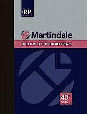 Portada del libro 9780857113672 Martindale The Complete Drug Reference, 2 Vols.