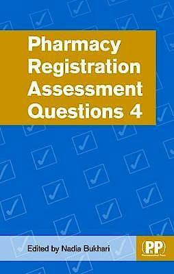 Portada del libro 9780857113849 Pharmacy Registration Assessment Questions 4