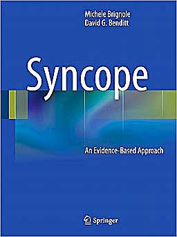 Portada del libro 9780857292001 Syncope. an Evidence-Based Approach
