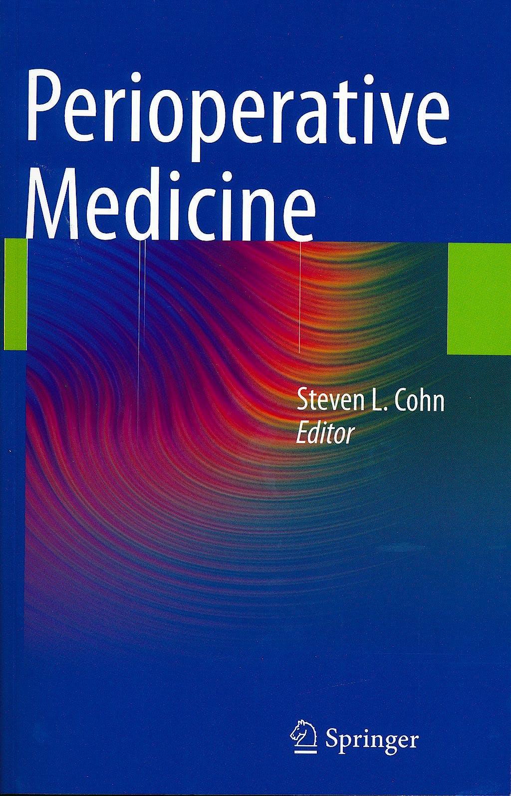 Portada del libro 9780857294975 Perioperative Medicine