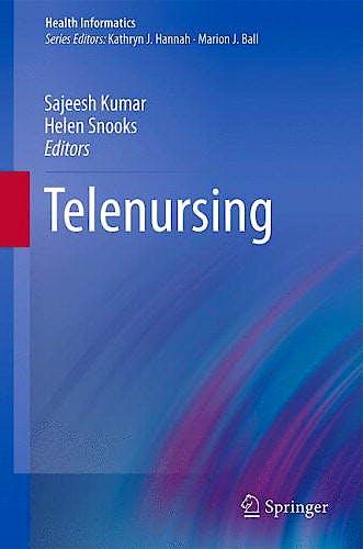 Portada del libro 9780857295286 Telenursing (Health Informatics)