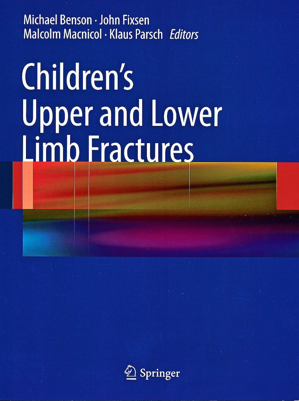 Portada del libro 9780857295545 Children's Upper and Lower Limb Fractures