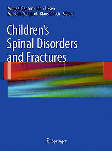 Portada del libro 9780857295576 Children's Spinal Disorders and Fractures