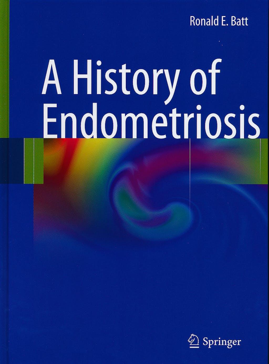 Portada del libro 9780857295842 A History of Endometriosis