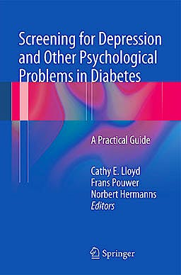 Portada del libro 9780857297501 Screening for Depression and Other Psychological Problems in Diabetes. a Practical Guide