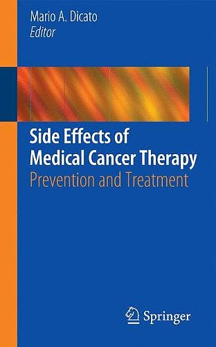 Portada del libro 9780857297860 Side Effects of Medical Cancer Therapy