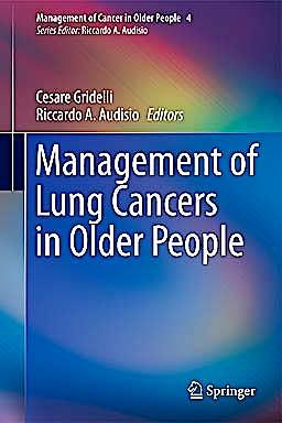 Portada del libro 9780857297921 Management of Lung Cancers in Older People (Management of Cancer in Older People)