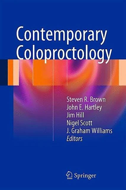 Portada del libro 9780857298881 Contemporary Coloproctology