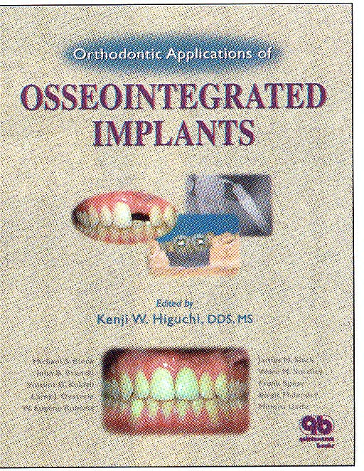 Portada del libro 9780867153569 Orthodontic Applications of Osseointegrated Implants
