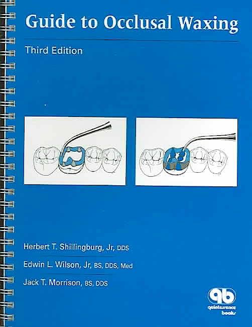 Portada del libro 9780867153859 Guide to Occlusal Waxing