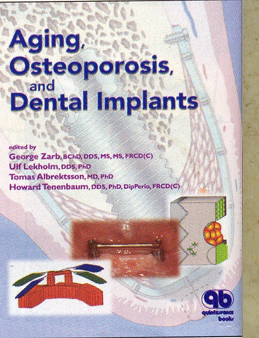 Portada del libro 9780867154078 Aging, Osteoporosis and Dental Implants
