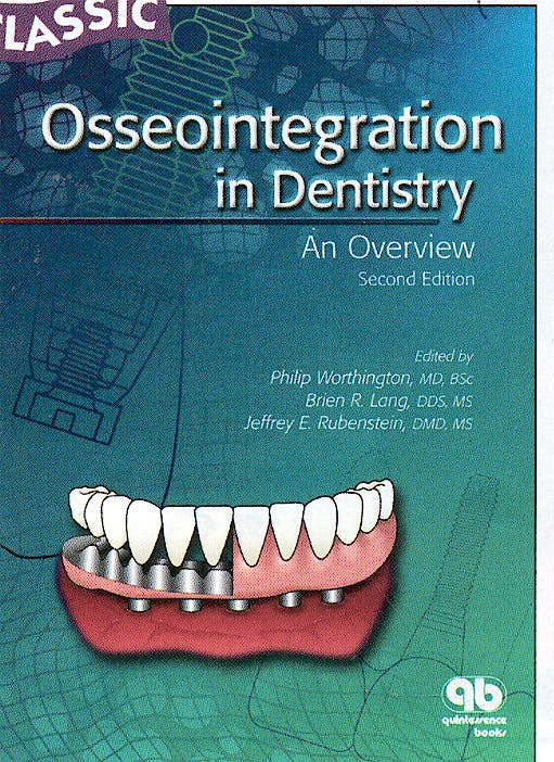 Portada del libro 9780867154252 Osseointegration in Dentistry : An Overview