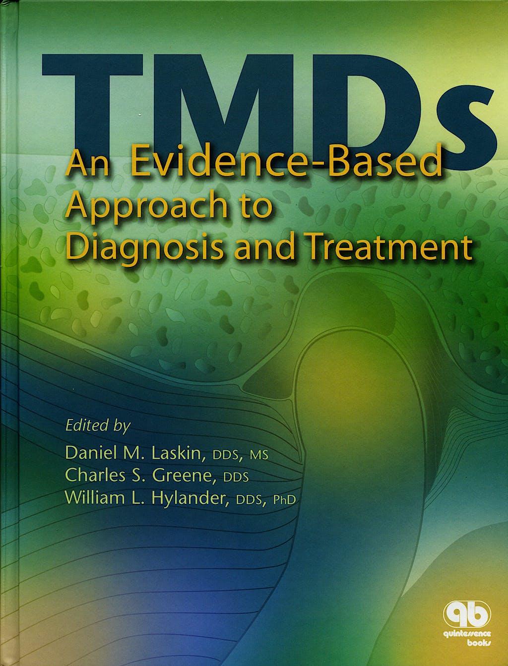 Portada del libro 9780867154474 Temporomandibular Disorders : An Evidence-Based Approach