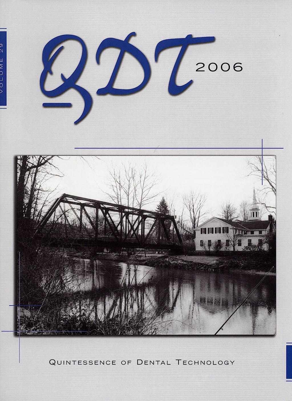 Portada del libro 9780867154597 QDT. Quintessence of Dental Technology 2006