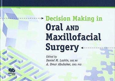 Portada del libro 9780867154634 Decision Making in Oral and Maxillofacial Surgery
