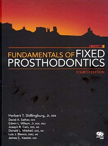 Portada del libro 9780867154757 Fundamentals of Fixed Prosthodontics